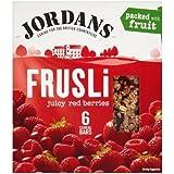 Jordans Barres De Céréales Fruits Rouges Juteuses Frusli (De 6X30G)