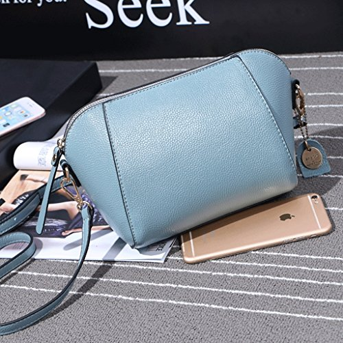 St Dgf Salvaje Simple Mini Shell Great Bolso Bolso Bolso Hombro La Mensajero De De Wild De St Dgf Great Blue Single Mini Bolso Blue color Azul Shoulder Coreano Azul Handbag Bag color Messenger Korean Bag Nuevo New Manera Shell Fashion Bag De 7ZEBErx