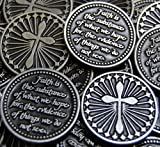 Set of 10 Faith is the Substance Pocket Token Coins