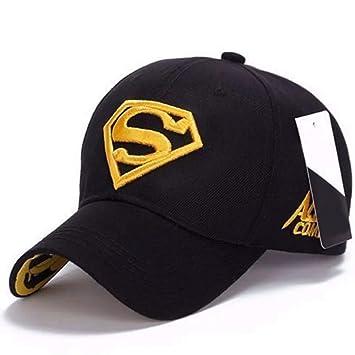 NY Show Response Gorra de béisbol Logo Superman Sombrero Golf Mode Sport algodón Bordado, Hombres
