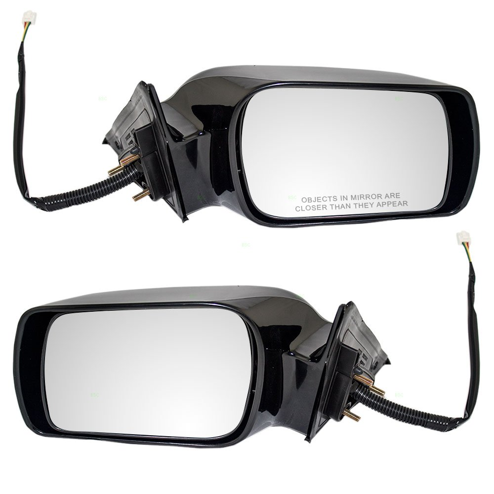 Driver and Passenger Power Side View Mirrors Replacement for Toyota Avalon 87940AC011C0 87910AC011C0
