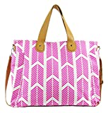 Hot Pink Arrows Weekender Tote Bag