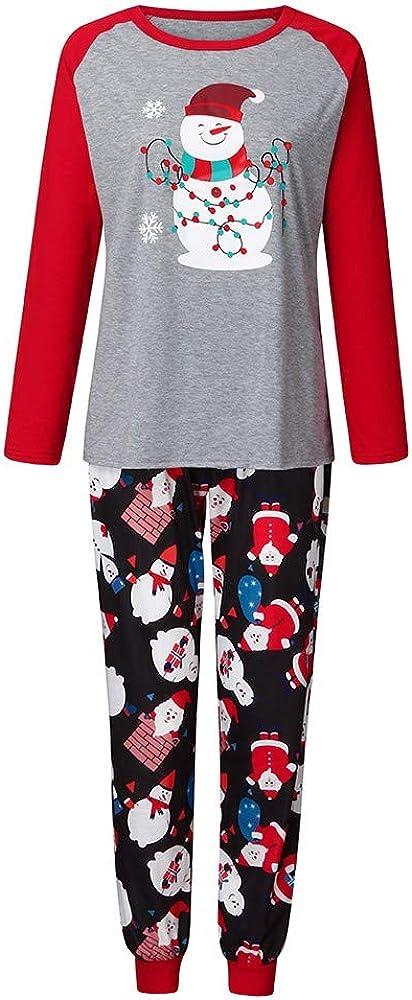 Pijama de Familia, Ropa de Noche con impresión navideña, Elegante ...