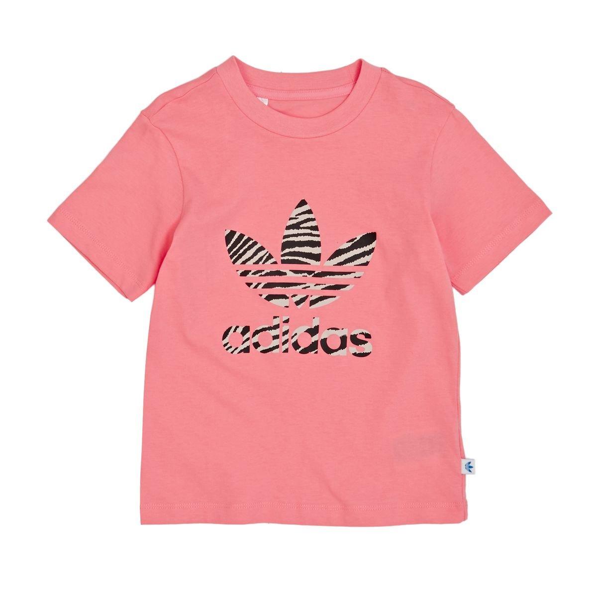 adidas Unisex Kids Ywf Trefoil Logo T-Shirt ADIEY|#adidas AY8548