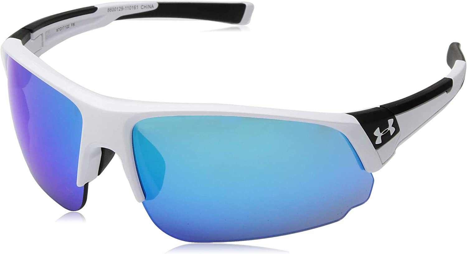 White Under Armour Changeup Dual Sunglasses Gray Lens