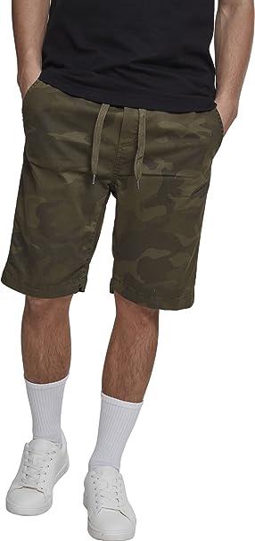 Urban Classics Camo Joggshorts Pantalones Cortos para Hombre