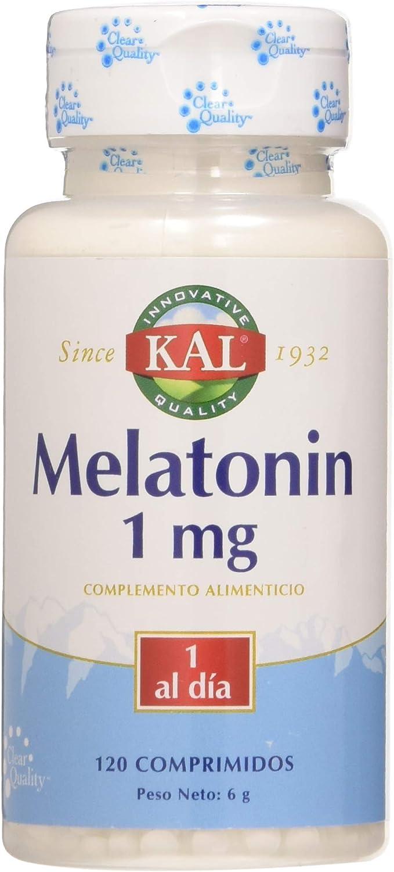 Solaray, Melatonina 1Mg, 120 Tabletas: Amazon.es: Salud y cuidado ...