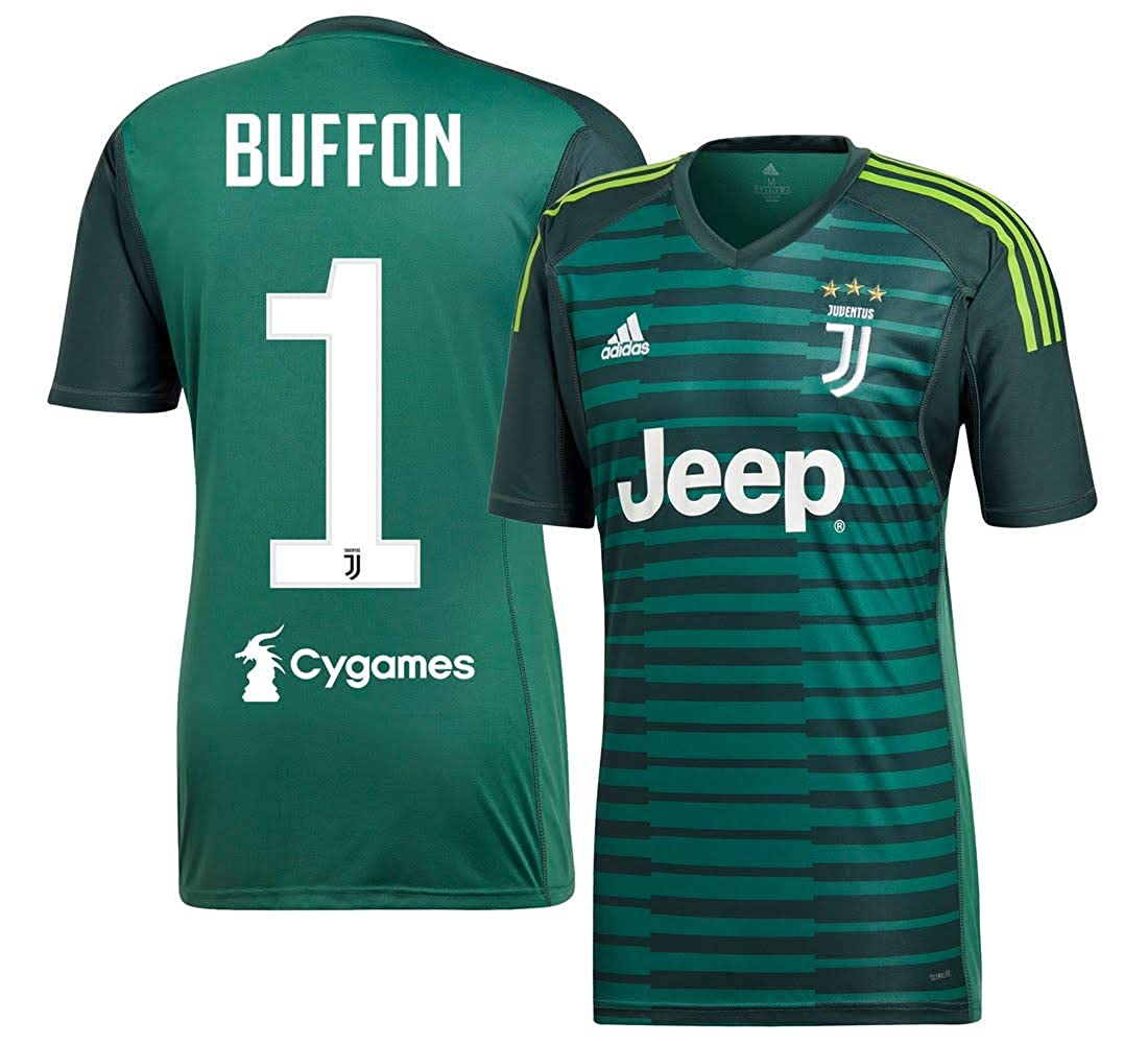 Juventus Home TW Trikot 2018 2019 + Buffon 1