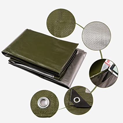 JNYZQ Lona de protección para lluvia a prueba de lluvia Cubiertas de tela Cobertizo Lona para
