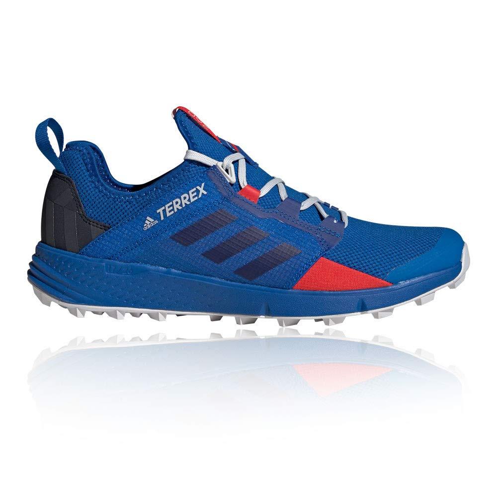Blau adidas Terrex Agravic Speed LD Trail Laufschuhe - SS19