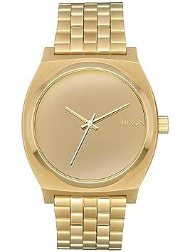 Nixon Reloj Analogico para Unisex de Cuarzo con Correa en Acero Inoxidable A045-2764-00: Amazon.es: Relojes