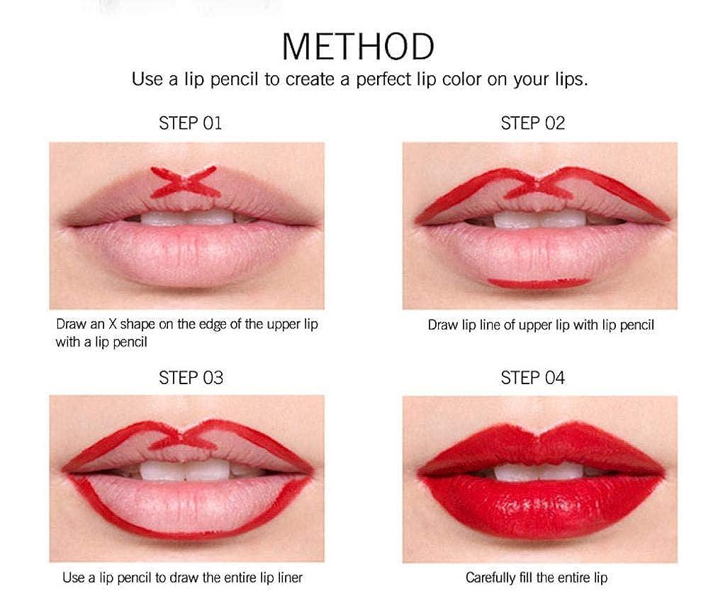 amazon com ourhomer lipstick waterproof pearl metallic long
