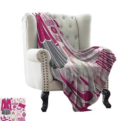 Amazon Com Girly Decor Personalized Blankets Fashion Theme