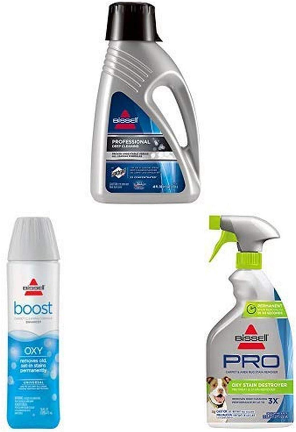 Complete Professional Carpet Shampoo Bundle