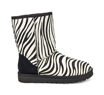 UGG CLASSIC SHORT EXOTIC Stiefel 2018 zebra, 37