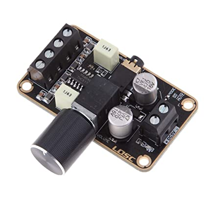 D DOLITY PAM8406 Dual Canales Amplificador para Sistema de Sonido Vehículo Altavoz Hogar, 5W +