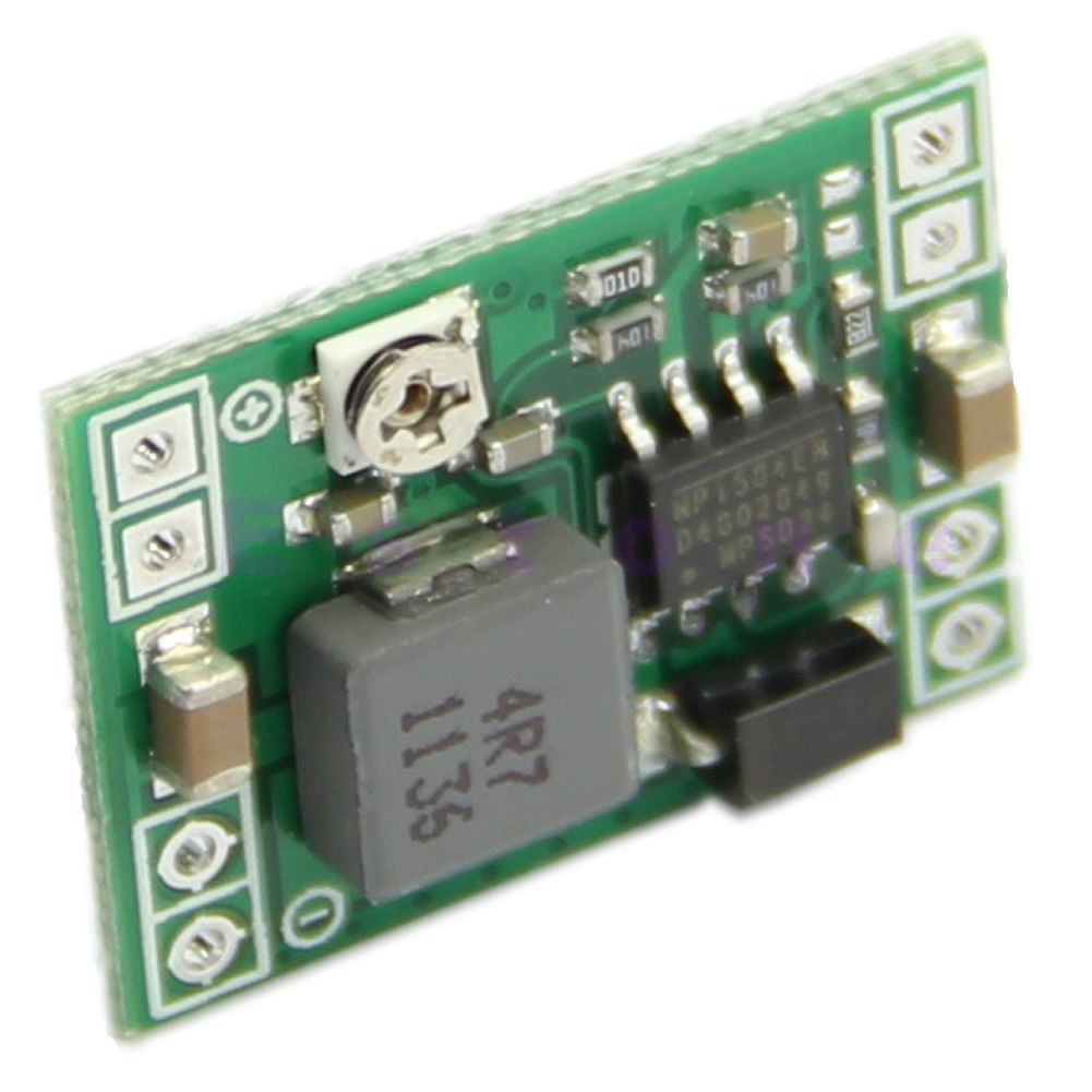 Mp1584en Ultra Small Dc 3a Power Step Down Adjustable 5v Stepdown Switching Voltage Regulator Schematic With Lm2576t5v Module Buck Converter 24v To 12v 9v 3v For Arduino By Atomic Market Electronics