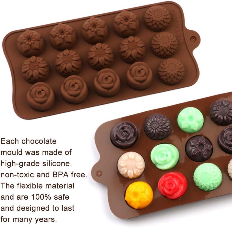 Chowceng Silicone della FDA di Fai da Te di Cioccolato Fondente del Fumetto Stampi Ice Candela Cookies Gesso Muffa di Cottura