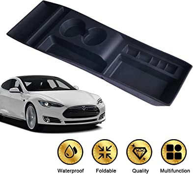 Silicone Storage Box Console Container Box Cup Holder For Tesla Model S