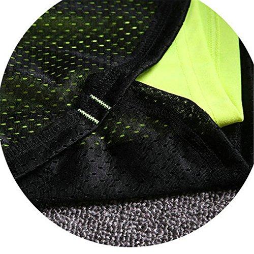 Da A01 Di Pantaloncini Donna In L'Esecuzione Sportivo Traspiranti Da Verde Atletico Ladia Yoga Pantaloncini Estivi Da Mesh Abbigliamento ECYC 5cw7YOTqx