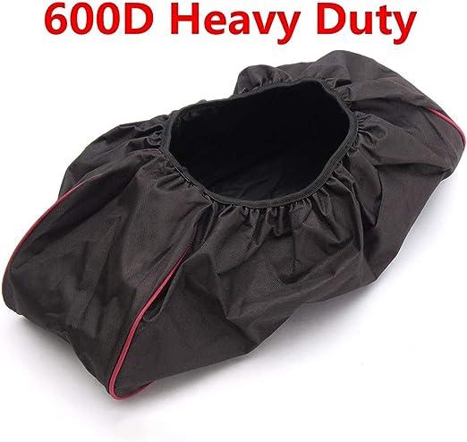 Couvercle treuil 600D accessoires voiture imperm/éable tissu Oxford /épais pour la r/écup/ération du conducteur bord rouge r/ésistant aux UV universel capacit/é anti-poussi/ère 8000-17500