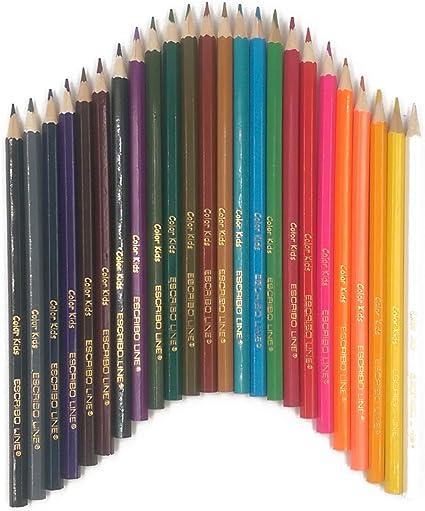 Lápices de colores estuche de 24 unidades LIQUIDACIÓN 2X1: Amazon.es: Oficina y papelería