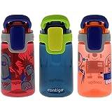 Contigo Water Bottles, Cardinal/Nautical/Nectarine