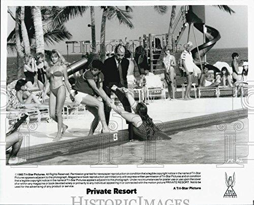 """1985 Importune Photo """"Private Resort""""Johnny Depp,Tony Azito - DFPG77127"""