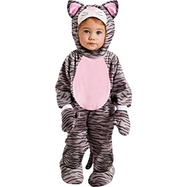 Amazon.com: Fun World Little Stripe Kitten Infant Costume: Clothing