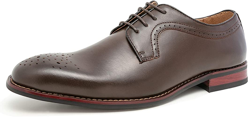 Amazon.com: YILOTE - Zapatos de vestir para hombre de piel ...