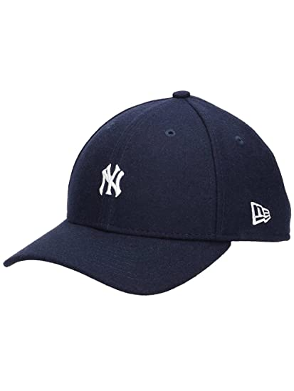 d1630e316a1a Casquette 9FORTY Mini MLB Melton New York Yankees bleu marine NEW ERA -  Ajustable