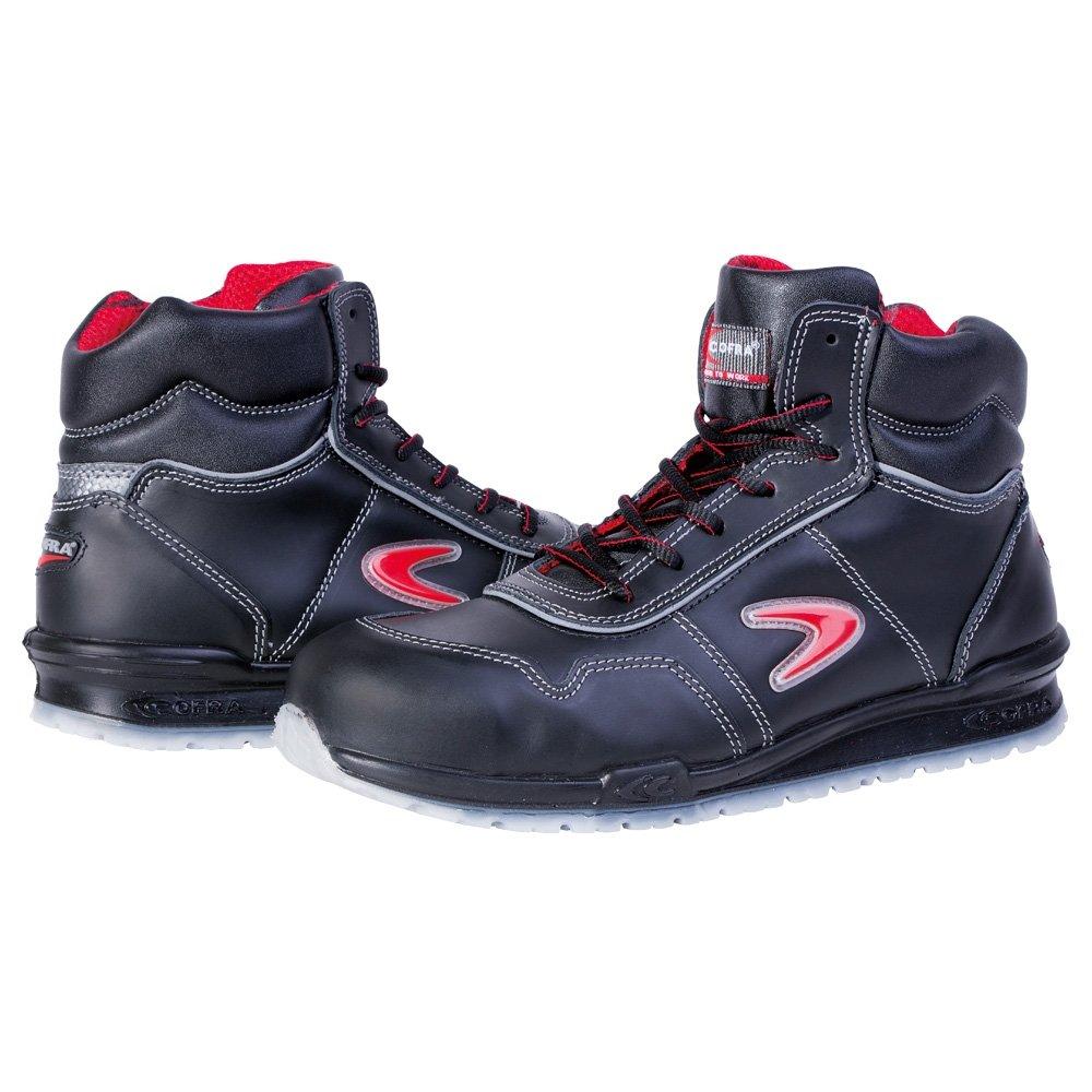Cofra Safety Puskas Eagen Sicherheits-Stiefel S3 SRC EN ISO 20345 rot