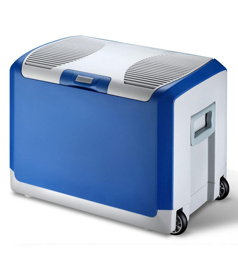 LIQICAI 40L Elektrische Kühlbo Minikühlschrank Hitze Und Cool, Geformte Tragegriffe, 2 Stabile Räder (größe : for Car+Home)
