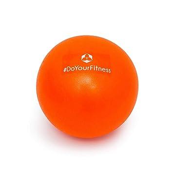 #DoYourFitness Mini Pelota de Pilates »Bola« / Pelota para Ejercicios de Gimnasia / 18 cm, Naranja: Amazon.es: Deportes y aire libre