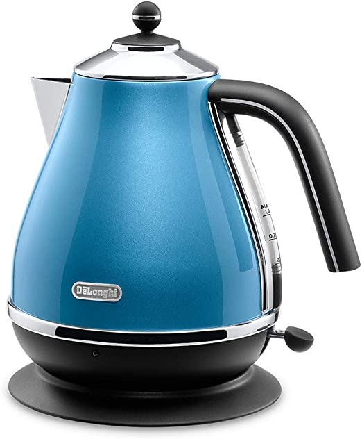 Delonghi Electric kettle 1.0L ICONA Vintage Collection KBOV1200J-GR Olive green