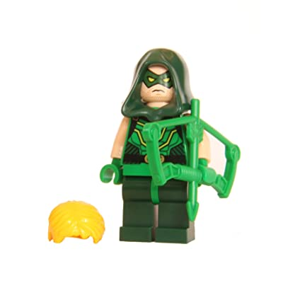 LEGO® Super Heroes™ Green Arrow - avec bow and replacemenet hood