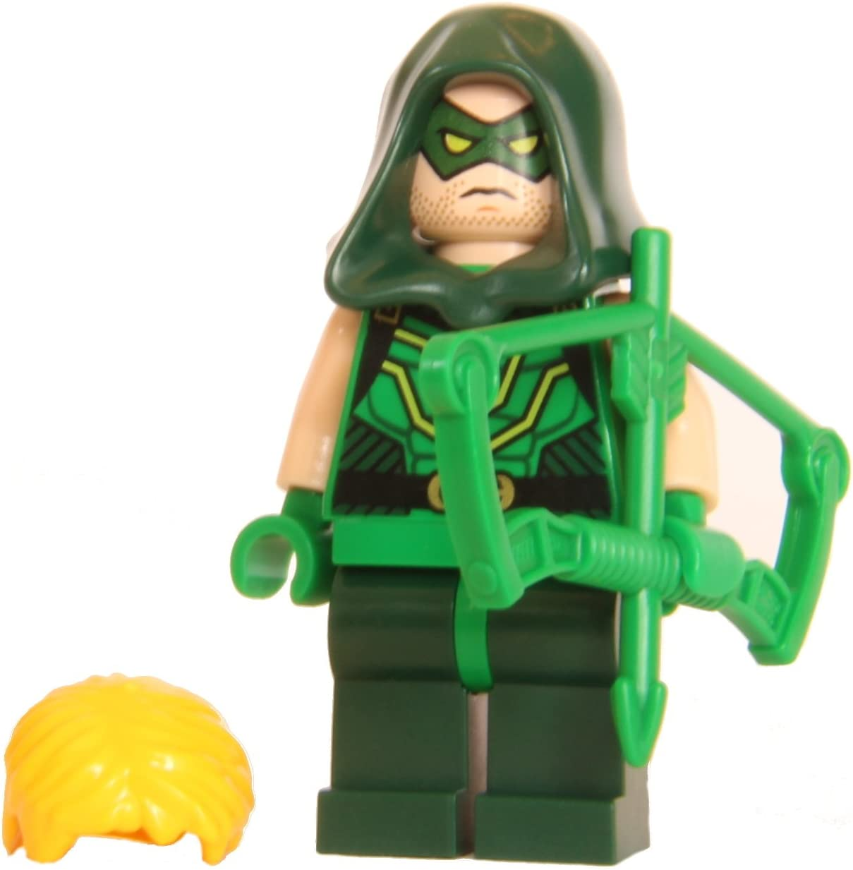 LEGO Super Heroes Green Arrow - with bow and replacemenet hood