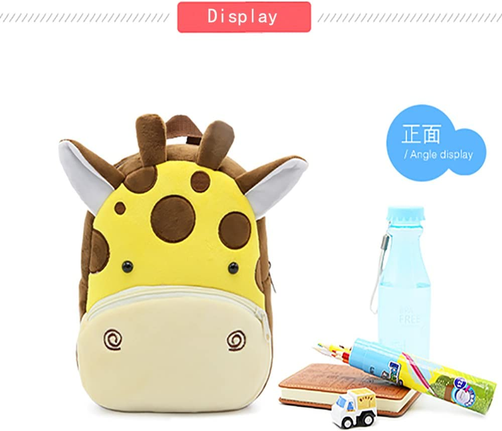 Mini Funny Zoo Giraffe Schoolbag for Little Boys or Girls SPLHMILY Cute Toddler Kids Backpack