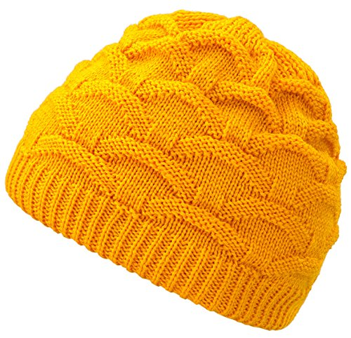 Woman Beanie Torsades Knitted Gorros o Lady Winter Pursed tama Neon colores Skullies With Fur Wava Varios Orange For 4sold Un 7zwIq8W
