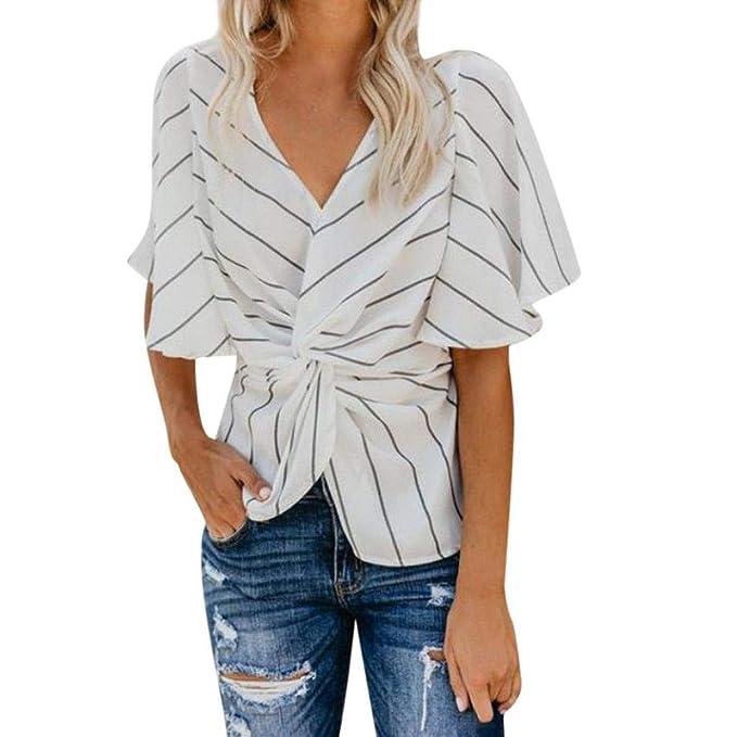 7b7f316a6f MEIbax Pullover Donna Elegante/Bluse e Camicie Donna Taglie Forti ...