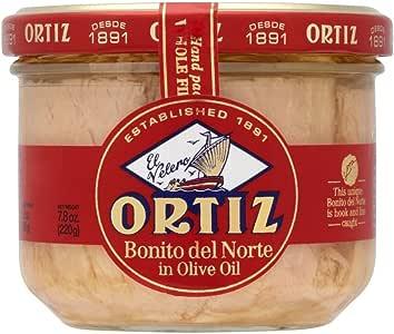 Ortiz White Tuna Fillets in Olive Oil (220g)