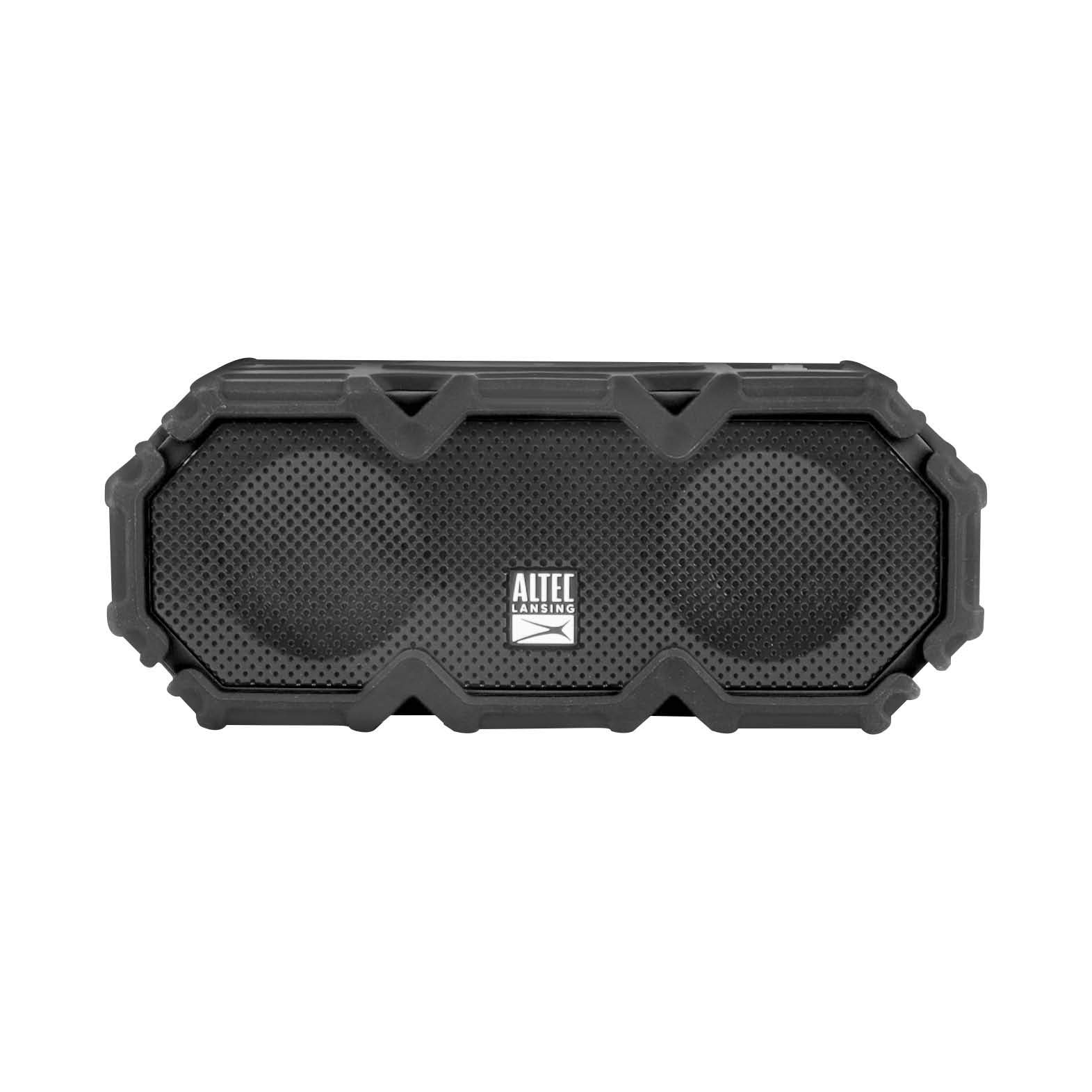 Altec Lansing IMW580 Lifejacket Jolt Heavy Duty Rugged and Waterproof Portable Bluetooth Speaker with Qi Wireless Charging, 20 Hours of Battery Life, 100FT Wireless Range and Voice Assistant