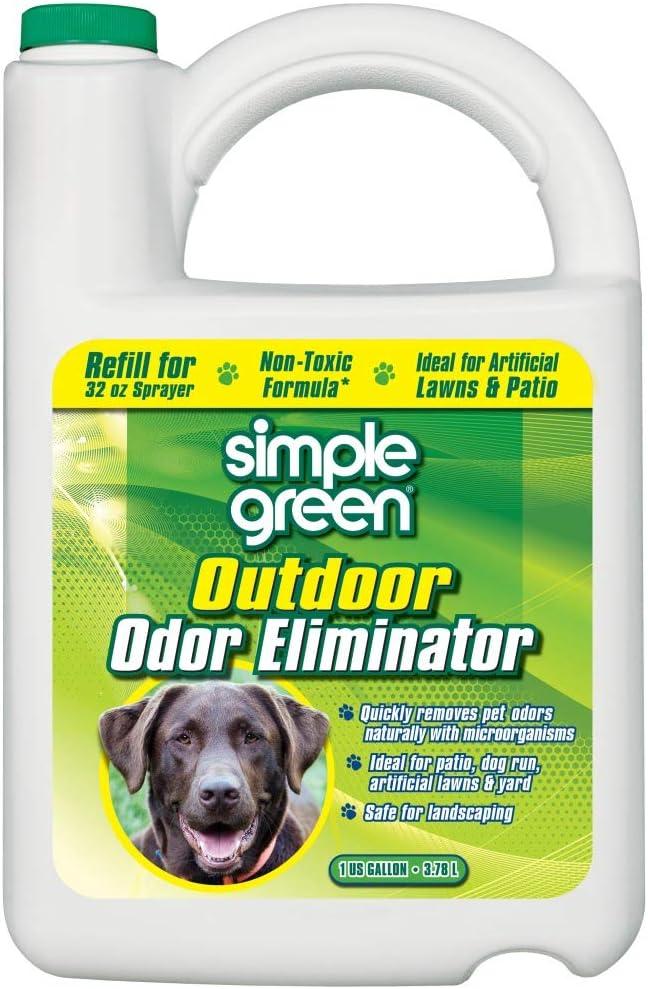 Best Pet Carpet Cleaner-Best Outdoor: Simple Outdoor Eliminator Gallon Refill