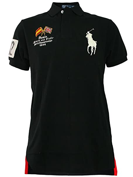 RALPH LAUREN Hombre Diseñador Polo Shirt Camisetas - SPAIN BIG ...