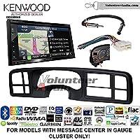 Volunteer Audio Kenwood Excelon DNX694S Double Din Radio Install Kit with GPS Navigation System Android Auto Apple CarPlay Fits 1999-2002 Silverado, 1999-2002 Tahoe, 1999-2002 Yukon