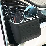 Car Air Vent Cell Phone Holder Car Mount Phone Holder Pocket Organizer Car Cradle Mount Pouch Bag Box Tidy Storage Coin Key C