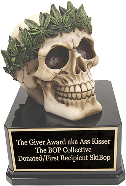 Far Out Awards The Giant Joint Trophy Weed Competition Cannabis Trophy Marijuana Award Stoner Award