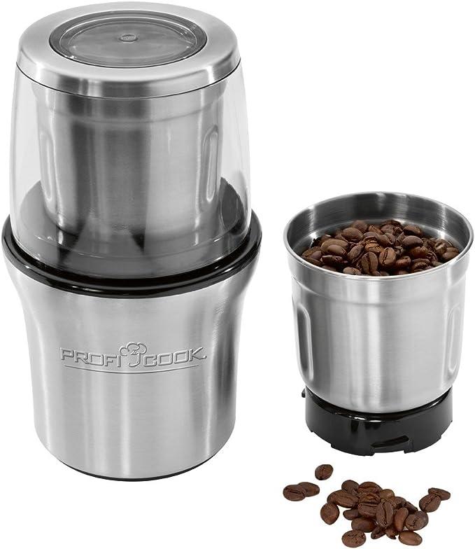 ProfiCook PC-KSW 1021 Molinillo de café eléctrico + picador ...