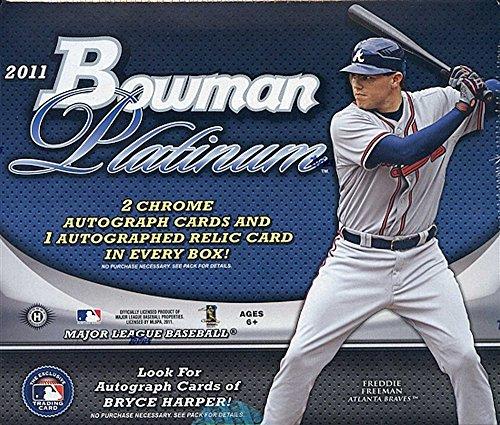 2011 Bowman Platinum MLB Baseball HOBBY box ()