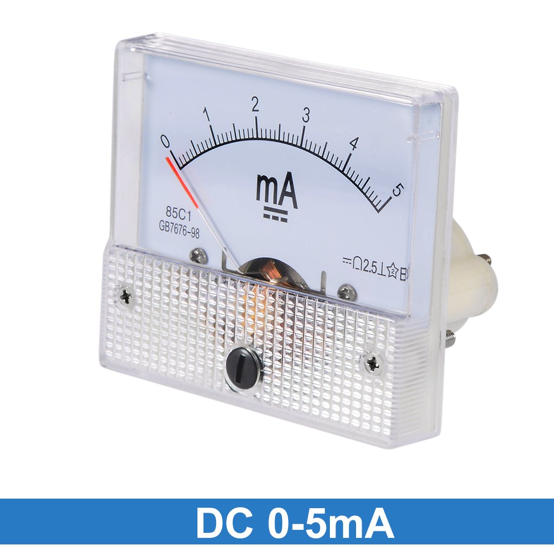 uxcell 85C1 Analog Current Panel Meter DC 200mA Ammeter for Circuit Testing Ampere Tester Gauge 1 PCS a18031200ux0172